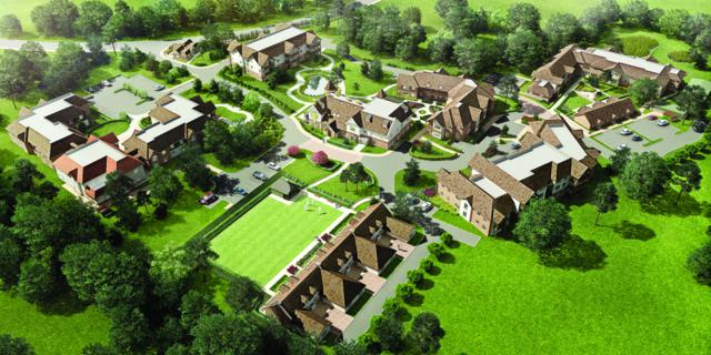 Building bigger, better retirement villages with care