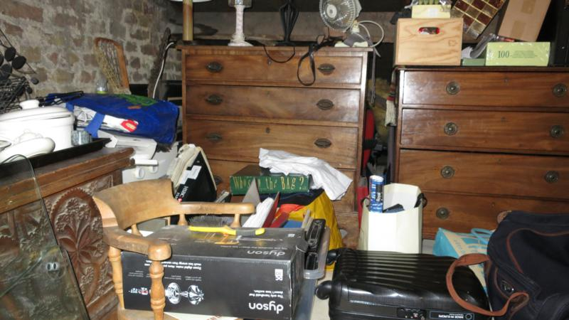 Clearing a lifetime of clutter