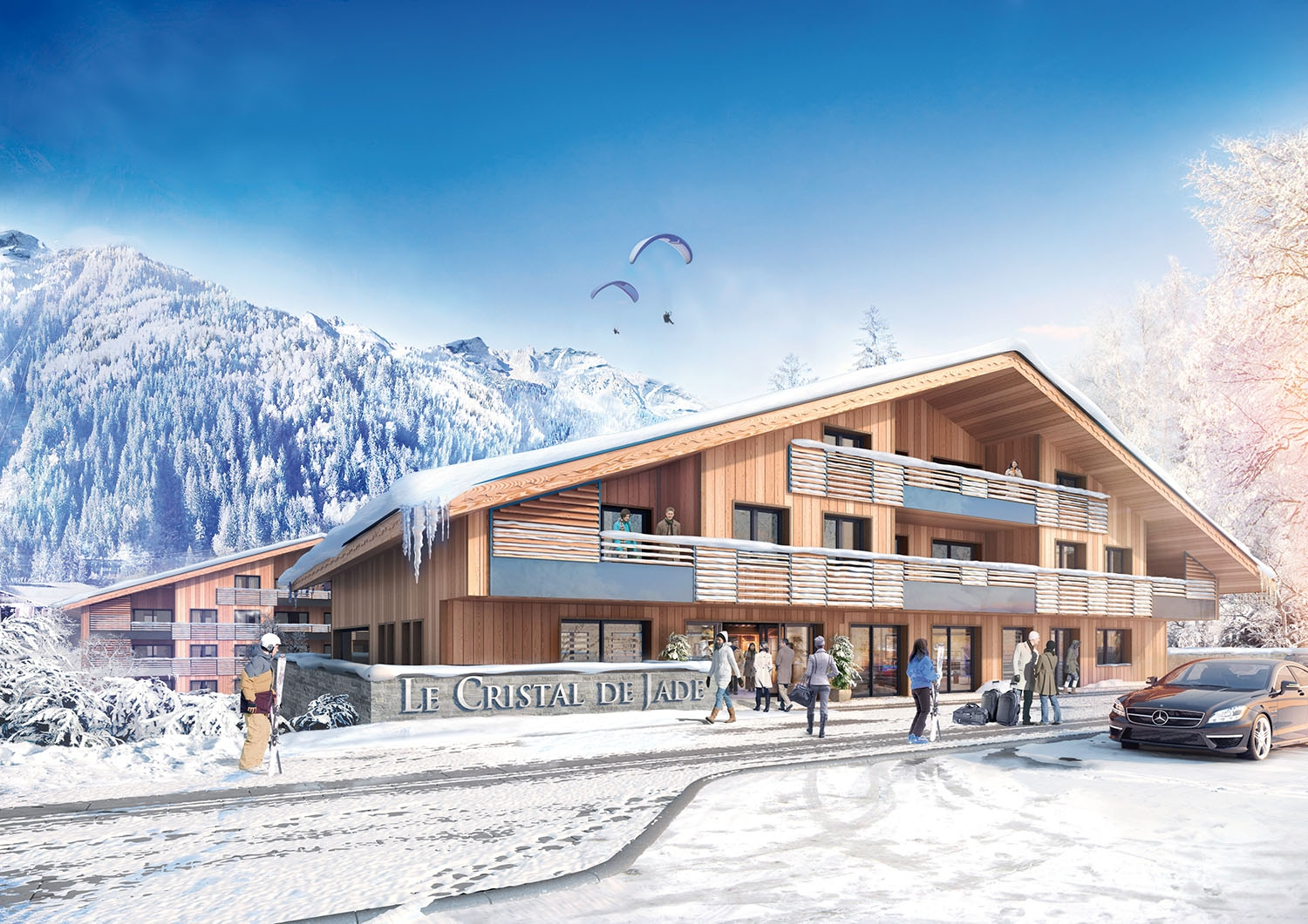 Brits flock to buy new apartments in Chamonix