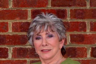 Valerie Singleton entertains care home residents