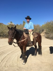 Adam-on-horseback