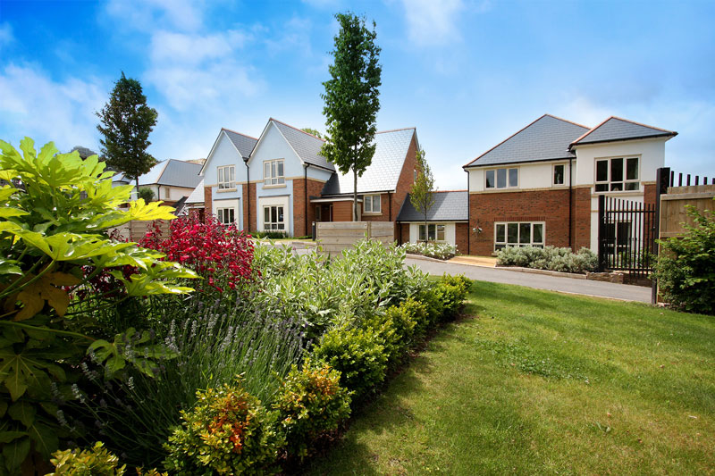 Millbrook Village in Exeter is designed for urban downsizers
