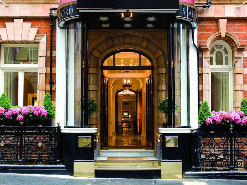 The Stafford Hotel is a choice capital treat