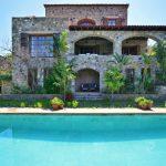 Five-bedroom villa, hillside and sea views, Yalikavak, POA