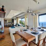 Three-bedroom/four bathroom modern stone villa, panoramic views, Yalikavak, £640,000