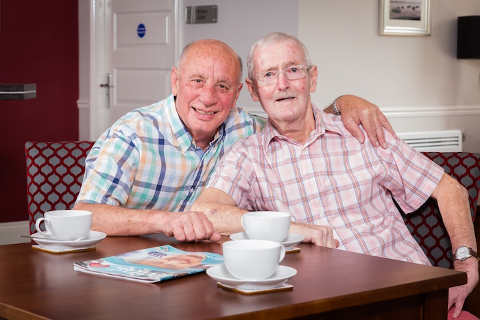 Friends reunited at new retirement development