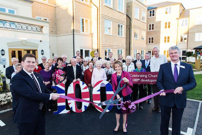 Churchill Retirement opens 100th development