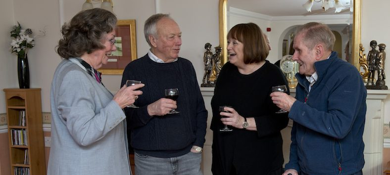 Retirement living offers older people a social life