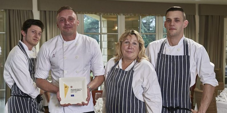 Fine dining award for retirement village