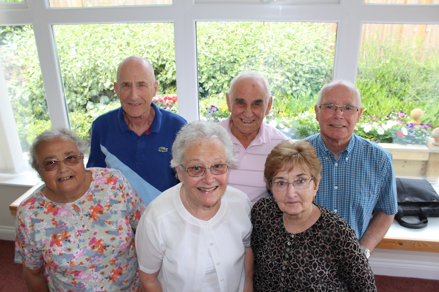 Retiring with family and friends