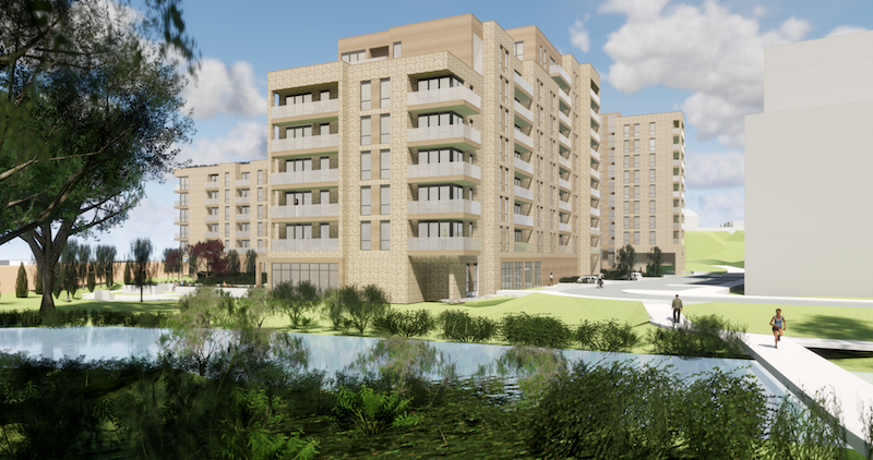 New retirement village in Watford
