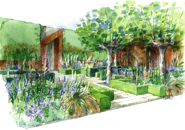 Chris Beardshaw's Healthy Cities garden