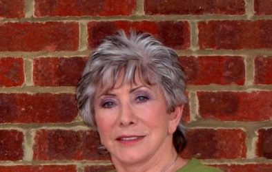 Valerie Singleton entertains care home residents