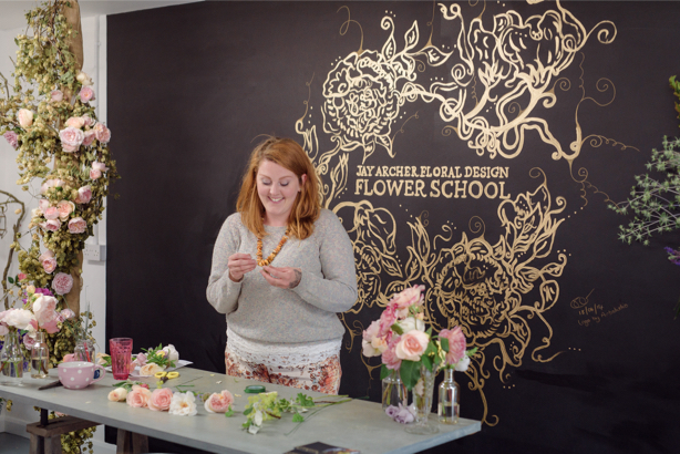 New flower school taps into your wild side