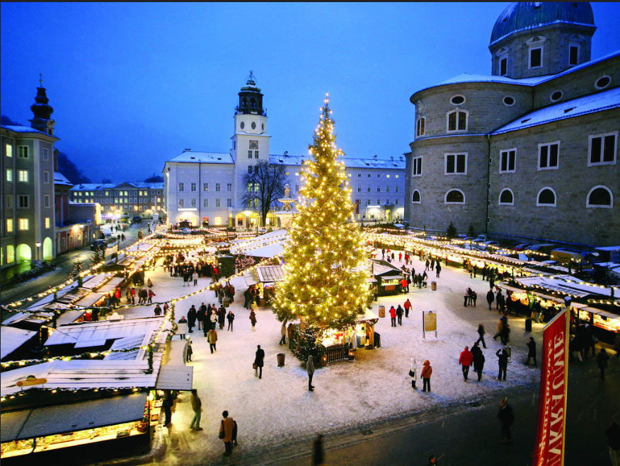 Christmas markets in Salzburg