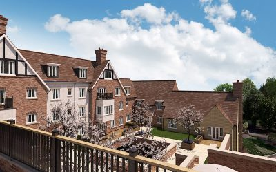 A new retirement village in Worcestershire