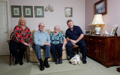 Moving in with mum and dad in retirement