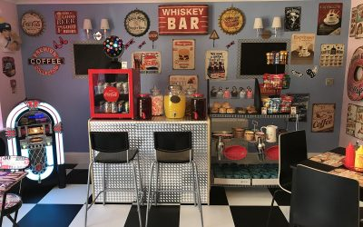 Retro diner opens in Anchor care home