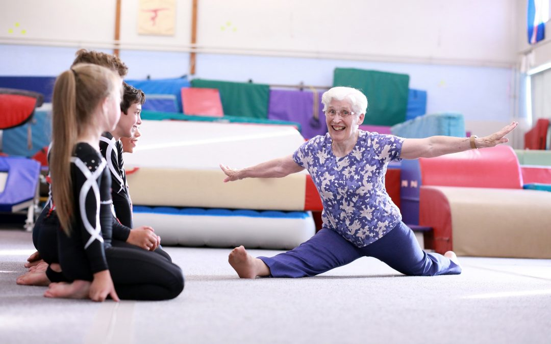 Yorkshire grandmother and former Olympian is a winner at 84