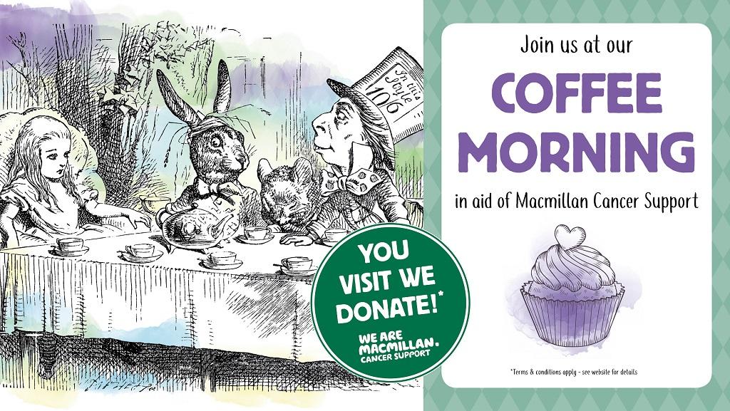 Macmillan Coffee Mornings