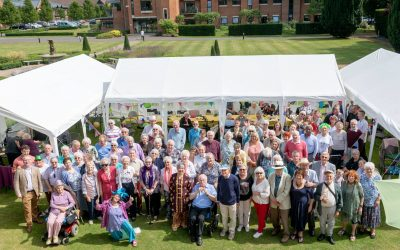 Grove Place marks 10th Anniversary with Wizard of Oz themed garden party