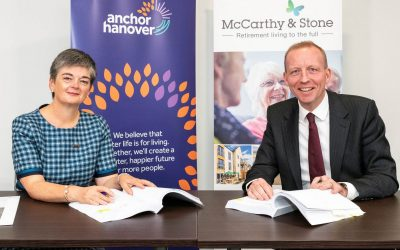 New 'Affordable living' partnership between Anchor Hanover and McCarthy & Stone