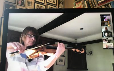 BBC orchestral viola players bring joy giving recitals over zoom