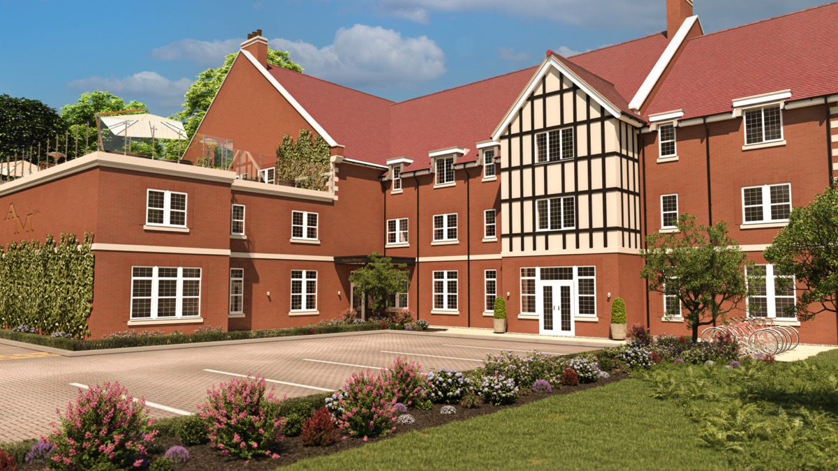 Introducing the UK's first over-55s development with a heli-pad