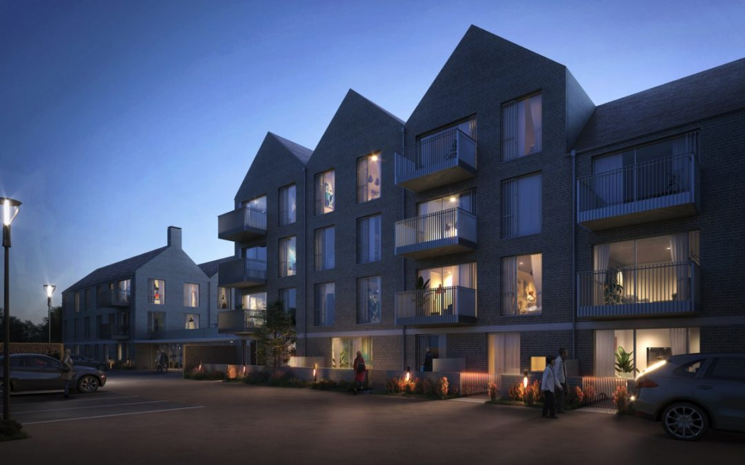 New development in leafy Cobham, Surrey