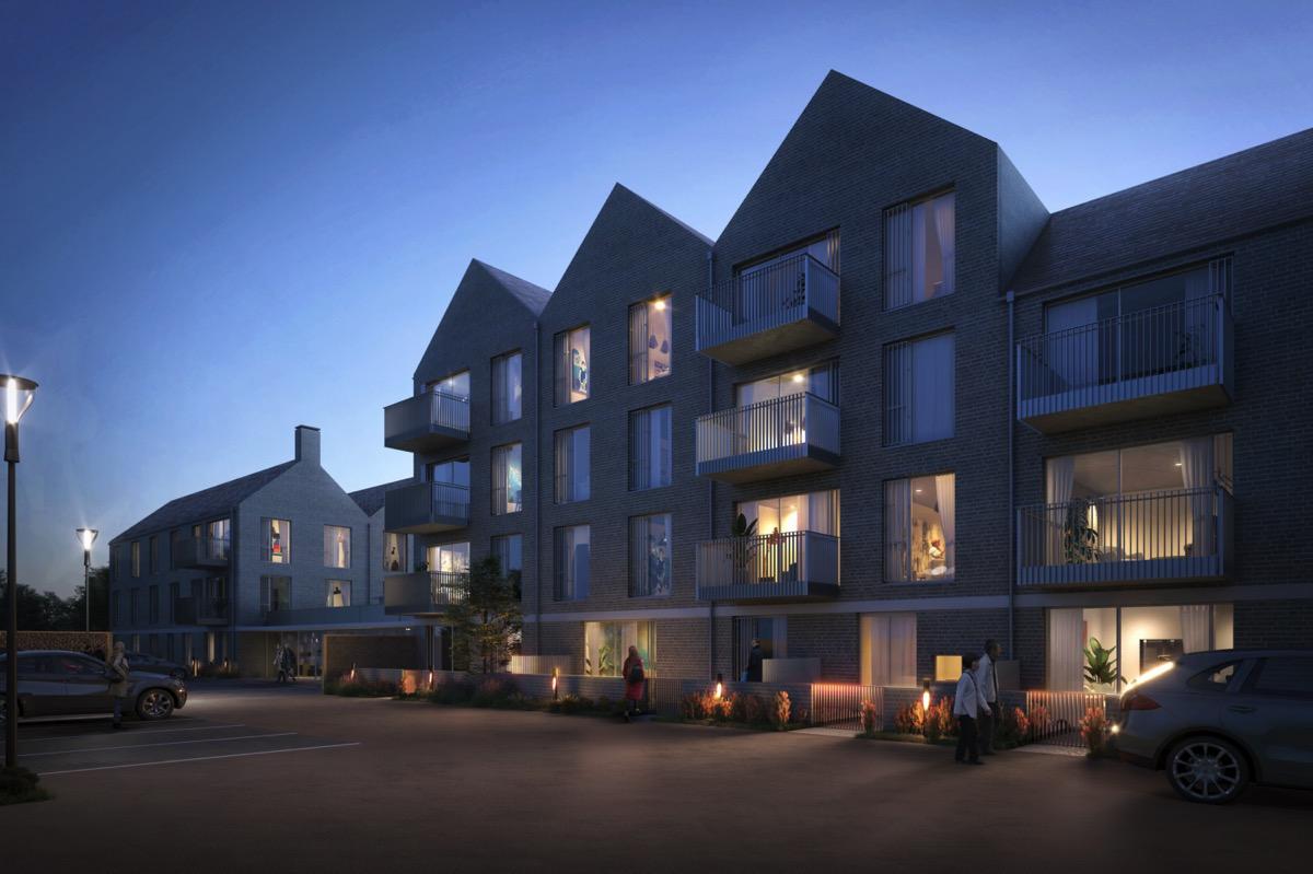 New development in leafy Cobham, Surrey