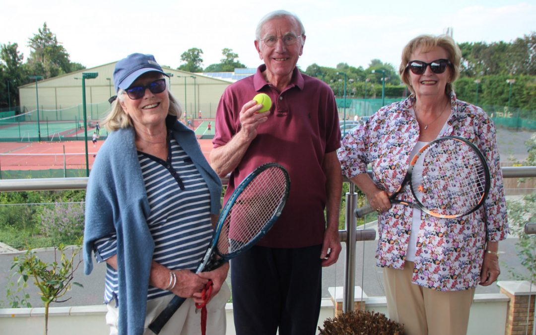 All eyes on Wimbledon at Castle View Windsor