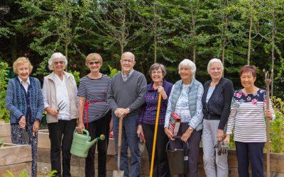 Flowers and friendship at Adlington Retirement Living